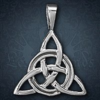 Charmed Knoten Anh�nger, Silber