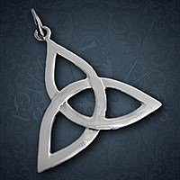 Triquetra Anh�nger, Silber