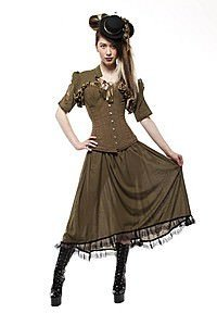 Verne Steam Rose Steampunk Bolero