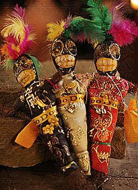 Voodoo Puppe New Orleans, 23cm