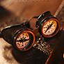 Steampunk Goggles Compass