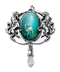 Anne Stokes Cabochons Forest Unicorn Cabochon