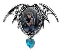 Anne Stokes Cabochons Water Dragon Cabochon