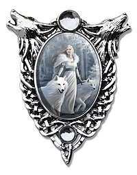 Anne Stokes Cabochons Winter Guardians Cabochon